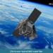 Interpretación artística del satélite HydroGNSS en órbita. / SSTL