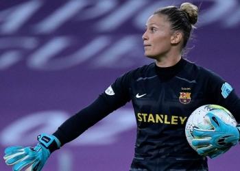 La alicantina Sandra Paños, mejor portera Champions de 2021